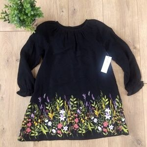Old Navy NWT 3T black swing top